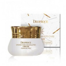 Крем для лица с протеинами паутины GREENCOS DEOPROCE SPIDER WEB Multi-care Cream 50 мл