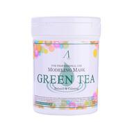 Маска АН Original альгинатная с экстр. зел.чая усп. (банка) 700мл LIGIAN Co.Ltd Grean Tea Modeling Mask container 240гр
