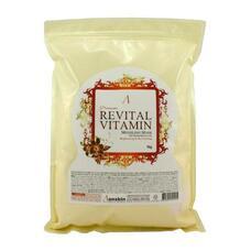 Маска АН PREMIUM альгинатная витаминная (пакет) LIGIAN Co.Ltd Revital Vitamin Modeling Mask Refill 1кг