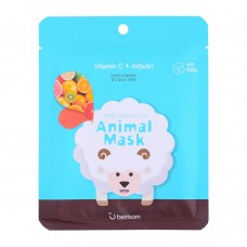 Маска тканевая Cosmelab БР Animal с витамином С и арбутином Animal mask series Sheep 25 мл
