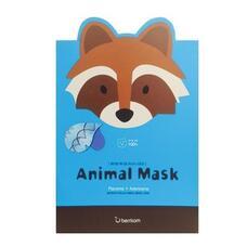 Маска тканевая Cosmelab БР Animal с экстрактом плаценты Animal mask series raccoon 25 мл