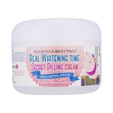 Крем для лица ЭФФЕКТ ПИЛИНГА осветляющий Real Whitening Time Secret Pilling Cream, 100 гр, Elizavecca
