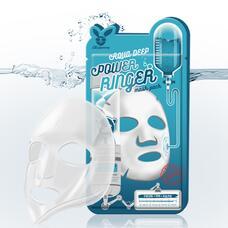 Тканевая маска для лица Увлажняющая AQUA DEEP POWER Ringer mask pack, 23 мл, Elizavecca