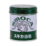 Зубной порошок для курильщиков Smoca Green со вкусом мяты и эвкалипта