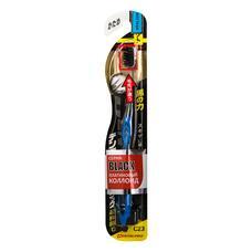 Зубная щетка Dentalpro Black Compact Head жесткая, 1 шт