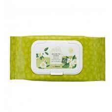 Салфетки очищающие с экстрактом зеленого чая THE SAEM Healing Tea Garden Green Tea Cleansing Tissue 240гр