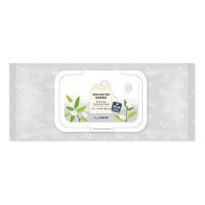 Салфетки очищающие с экстрактом белого чая THE SAEM Healing Tea Garden WhiteTea Cleansing Tissue 240 гр