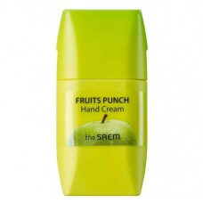 Крем для рук яблочный пунш THE SAEM Fruits Punch Apple Hand Cream 50 мл