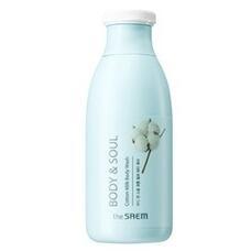 Гель для душа молочный THE SAEM Body & Soul Cotton Milk Body Wash N2 300 мл