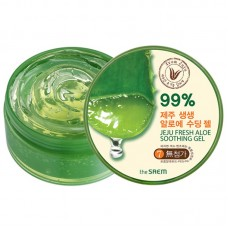 Гель с алоэ универсальный увлажняющий THE SAEM Jeju Fresh Aloe Soothing Gel 99% 300 мл