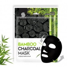 Маска для лица тканевая с бамбуковым углем G9 SKIN Bamboo Charcoal Mask 25 мл