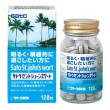 Зверобой в таблетках Sato St.Johns Wort № 20