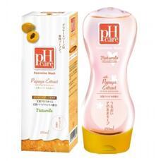 Нежный гель для интимной гигиены JRS pH Care с пантенолом и растительными экстрактами (с экстрактом и ароматом папайи) 150 мл /96