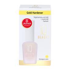Укрепитель ногтей с золотой пылью IQ BEAUTY GOLD HARDENER