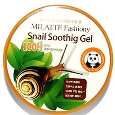 Гель универсальный увлажняющий Milatte Fashiony Snail Soothing Gel 300 мл