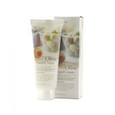 Крем для рук увлажняющий с экстрактом ОЛИВЫ 3W Clinic Olive Hand Cream
