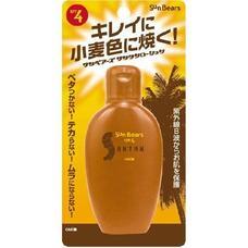 Водостойкий влагосберегающий лосьон для загара с защитой от ультрафиолета с экстрактом алоэ вера SPF4 OMI BROTHER Sun Bears 100 мл