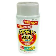 Соль для ванны с экстрактом морских водорослей, с согревающим и восстанавливающим эффектом на основе морской соли (банка 450г) Hakugen Bath King