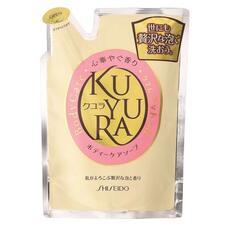 Гель для душа с ароматом цветов (мягкая эконом. упаковка) SHISEIDO KUYURA 400 мл