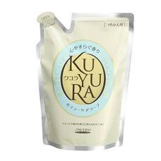 Гель для душа с ароматом трав (мягкая эконом. упаковка) SHISEIDO KUYURA 400 мл