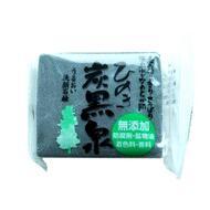 Глубоко очищающее мыло на основе бамбукового угля с ароматом японского кипариса Fudo Kagaku Tankokusen 1х75г