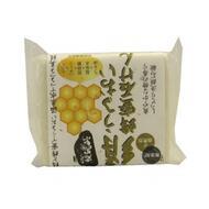 Увлажняющее косметическое мыло с медом и протеинами шелка Fudo Kagaku Tankokusen 1х75г