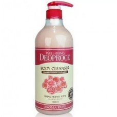 Гель для душа Роза GREENCOS WELL-BEING DEOPROCE AROMA BODY CLEANSER 1000ml ROSE