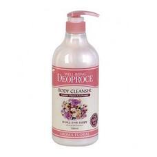 Гель для душа цветочный GREENCOS WELL-BEING DEOPROCE AROMA BODY CLEANSER 1000ml FLORAL