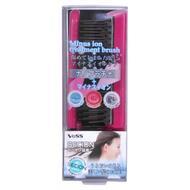 Щетка массажная VESS для ухода за волосами с отрицательно заряженными ионами складная