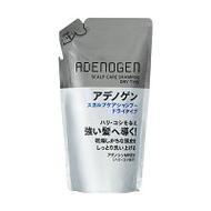Шампунь от выпадения и стимулирования роста волос для сухой кожи головы Shiseido Adenogen сменный блок 310 мл
