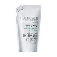 Шампунь от выпадения и стимулирования роста волос Shiseido Adenogen для жирной кожи головы аромат цитруса сменный блок 400 мл