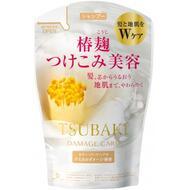 Шампунь для поврежденных волос с маслом камелии (мэу) SHISEIDO TSUBAKI Damage Care 380 мл