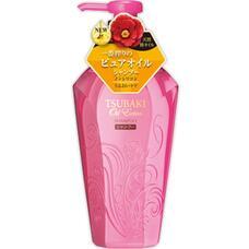 Бессиликоновый  увлажняющий шампунь для волос, насыщенный  маслом камелии SHISEIDO TSUBAKI Oil Extra 450 мл
