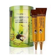 Сыворотка для волос восстанавливающая DEOPROCE SILK RECOVERY HAIR AMPOULE 10гр х 10