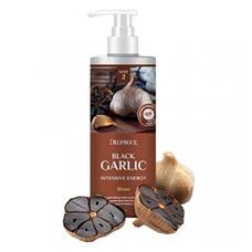 Бальзам для волос чёрный чеснок DEOPROCE RINSE BLACK GARLIC INTENSME ENERGY 1000 мл