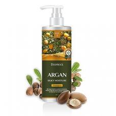 Шампунь для волос с аргановым маслом DEOPROCE SHAMPOO ARGAN SILKY MOISTURE 1000 мл