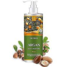 Бальзам для волос с аргановым маслом DEOPROCE RINSE - ARGAN SILKY MOISTURE  1000 мл