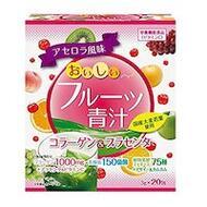 Аодзиру с коллагеном и плацентой со вкусом фруктов YUWA № 20