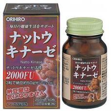 Натто Киназа и лецитин ORIHIRO № 60