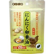 Японский БАД Orihiro Чеснок и лецитин из японского желтка № 60