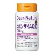 Коэнзим Q10 и 11 витаминов для красоты и молодости Asahi Dear-Natura № 60