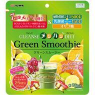 Зеленый смузи Yuwa с водородом и молочнокислыми бактериями для активного похудения и очищения от шлаков 150 гр
