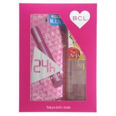 Подарочный набор BCL Пушистые ресницы Тушь для ресниц (удлинение + подкручивание)+очищающее и увлажняющее масло для снятия макияжа, 145 мл