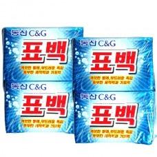Мыло хозяйственное набор CLIO New Dongsan Soap (Bleaching) 230g*4 шт