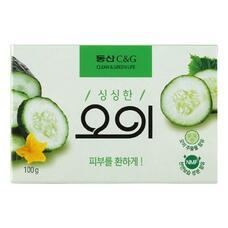 Мыло туалетное огуречное CLIO New Cucumber soap 100 г