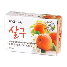 Мыло туалетное абрикос CLIO Apricot Soap 100 г