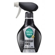 Спрей для удаления запаха и складок с одежды двойного действия KAO Resesh EX POWER с дезинфицирующим  и антибактериальным эффектом (без запаха) 370 мл