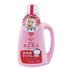 Жидкое мыло для стирки детского белья флакон SARAYA ARAU BABY 800 мл