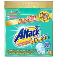 Концентрированный стиральный порошок KAO Attack BioEX 1 кг