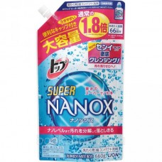 Жидкое средство для стирки Top Super NANOX запасной блок LION 660 гр